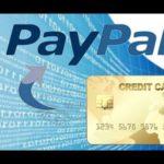Как пополнить счет PayPal с банковской карты?